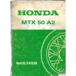 HONDA MTX 50 A2 (Manuel de base mai 1988)