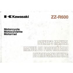 KAWASAKI ZZ-R 600 de 2001