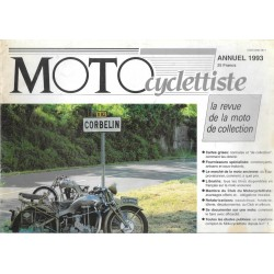 MOTOcyclettiste guide annuel 1993
