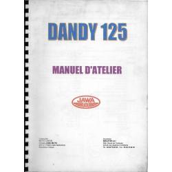 JAWA DANDY 125 Moteur 4 temps (manuel atelier)