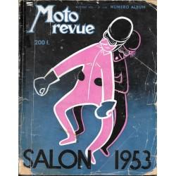 MOTO REVUE Salon 1953 (n° 1154)