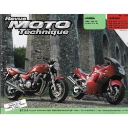 Honda CBR 1100 XX (97/98) - Yamaha XJR / SP 1200 / 1300 (95/03)