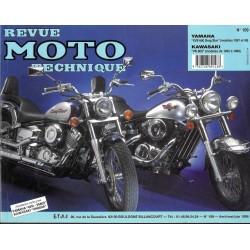 Yamaha XVS 650 (97 / 98) - Kawasaki VN 800 (95 / 98) RMT 109