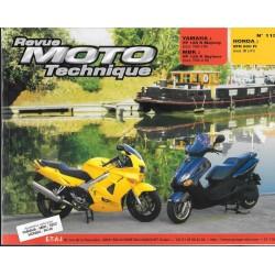 Honda VFR 800 FI (98 / 01) - Yamaha / MBK YP 125 R (98 /99)
