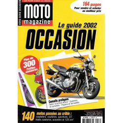 MOTO MAGAZINE GUIDE OCCASION 2002