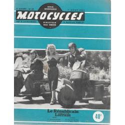 MOTOCYCLES n° 57 (1/8/1951)