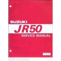 SUZUKI JR 50 (manuel atelier 09 / 1996) en anglais