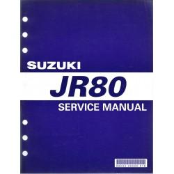 Manuel atelier SUZUKI JR 80 K1 en anglais (09 / 2000)
