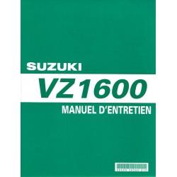 Manuel atelier SUZUKI VZ 1600 K4 et K5 modèle 2004 / 2005 (01 / 2005)