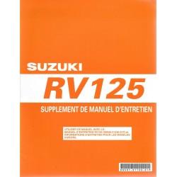 SUZUKI RV 125 K7 modèle 2007 (09/ 2006)