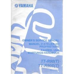 YAMAHA TT-R 90 (T) / TT-R 90 E(T) type 5HN modèle 2005