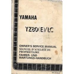 YAMAHA YZ 80 (E) / LC type 4ES de 1993