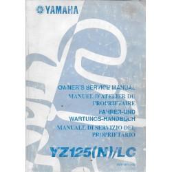 YAMAHA YZ 125 (N) / LC 2001