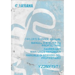 YAMAHA YZ 250 (T) / T1 modèle 2005 type 1PG