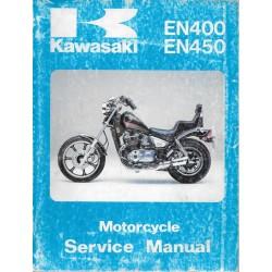 Manuel atelier KAWASAKI EN 400 - 450 (10 / 1991)