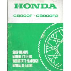 HONDA CB 900 F / CB 900 F2 (Additif décembre 1981)