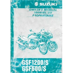 SUZUKI GSF 600 et 1200 / S modèle1997 (07 / 1996)