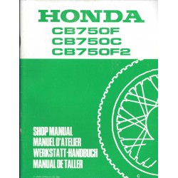 HONDA CB 750 F, C, F2. (Additif mars 1980)
