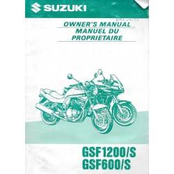 SUZUKI GSF 600 et 1200 / S modèle1998 (07 / 1997)