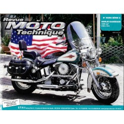 Revue Moto Technique HS n° 8 HARLEY-DAVIDSON 1340 cc SOFTAIL (1986-1994)