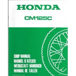HONDA CM 125 C (Additif mars 1985)