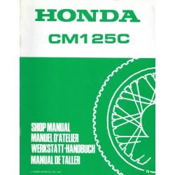HONDA CM 125 C (Additif N mars 1992)