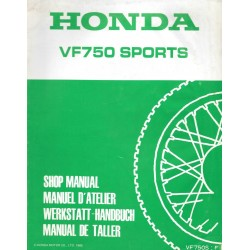 HONDA VF 750 SPORTS (Additif janvier 1985)