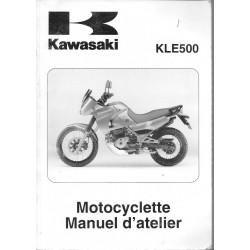 Manuel atelier KAWASAKI KLE 500-B1 (2005)