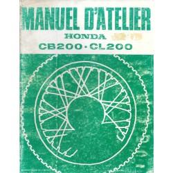HONDA CB 200 / CL 200 (Manuel de base)