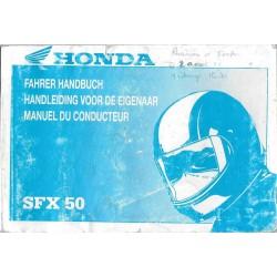 HONDA SFX 50 (Manuel utilisateur)