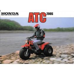 Prospectus original HONDA ATC 200 S