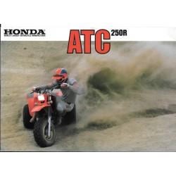 Prospectus original HONDA ATC 250 R