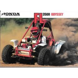 HONDA FL 350 R Odyssey (Prospectus original)