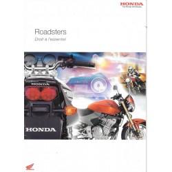Catalogue publicitaire original Roadsters HONDA de 2005