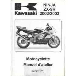 Manuel atelier KAWASAKI ZX-9R (2002 / 2003)