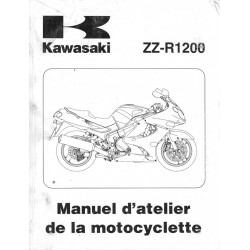 Manuel atelier KAWASAKI ZZ-R 1200 (2002)