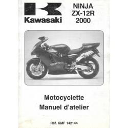 Manuel atelier KAWASAKI NINJA ZX-12R (2000)