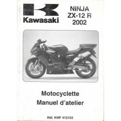 Manuel atelier KAWASAKI NINJA ZX-12R (2002)