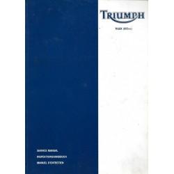 Manuel atelier TIGER 955 cc de 2001