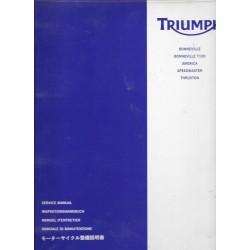Manuel atelier TRIUMPH Bonneville... de 2005