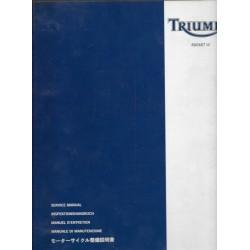 Manuel atelier TRIUMPH ROCKET III ... de 2004