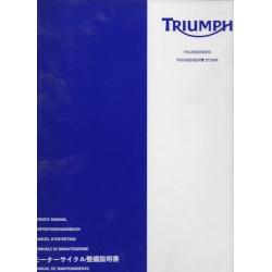 Manuel atelier TRIUMPH Thunderbird 1600 et 1700 cc (05/11)