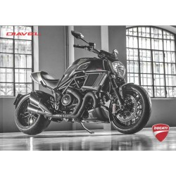 Catalogue original DUCATI DIAVEL 1200 cc de 2016