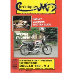 CHRONIQUES MOTO n° 20 ETE 1990