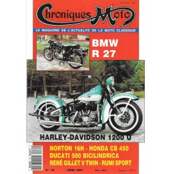 CHRONIQUES MOTO n° 30 JUIN 1991