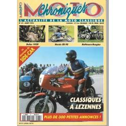 CHRONIQUES MOTO n° 61 AOUT 1994