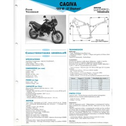 CAGIVA 900 IE - GT Elephant (1991 / 1992) Fiche RMT