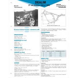 DAELIM VT 125 (1998 et 1999) Fiche RMT