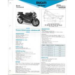 DUCATI 888 STRADA (1993) Fiche RMT