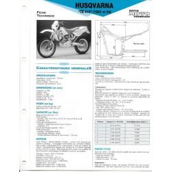 HUSQVARNA TE 610 (1993 et 1994) Fiche RMT